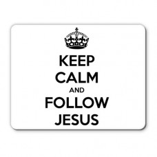 Коврик follow Jesus