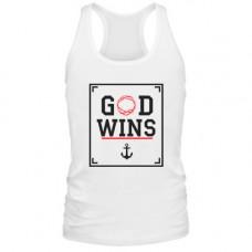 Майка God wins