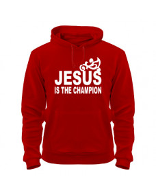 Толстовка Jesus is the champion
