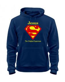 толстовка Jesus Superman