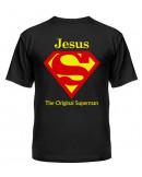 футболка Jesus Superman