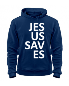 Толстовка Jesus saves